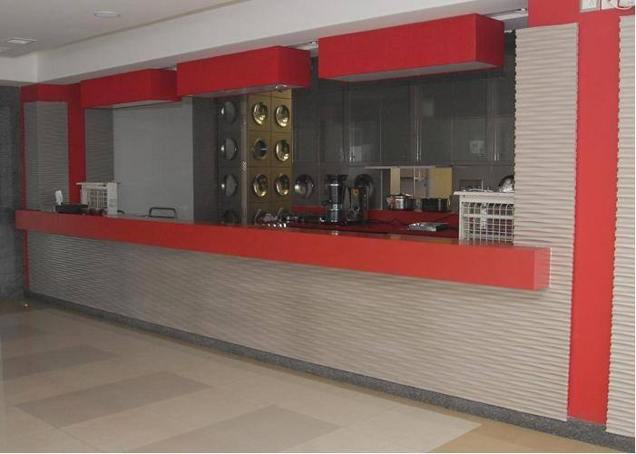 cafeteria counter